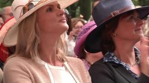 hoeden in het publiek