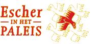 Logo Escher in het Paleis